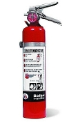 2.5 lb BC Dry Chemical Fire Extinguisher
