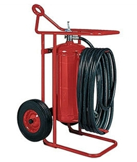 125 lb ABC Dry Chemical Extinguisher
