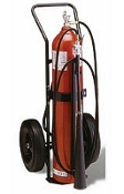 100 lb Carbon Dioxide (CO2) Extinguisher