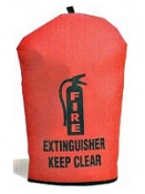 Small Heavy-Duty Fire Extinguisher Cover