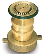 "2.5"" Adjustable Brass Fog Nozzle"