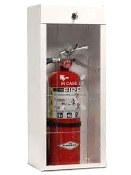 Metal Extinguisher Cabinet with Top Lock