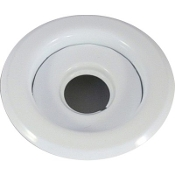 Sprinkler Head White Escutcheon