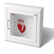 Semi-Recessed with Siren (For AED Units) Cabinet